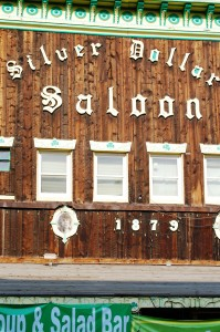 Silver Dollar Saloon storefront - Leadville, Colorado