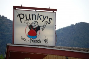 Punky's Cafe - love the name