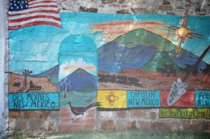 Wall Mural in Capulin, New Mexico
