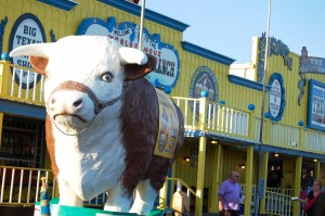 Giant Steer at the Big Texan