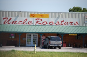 Uncle Rooster's Restaurant near Seymour, Missouri on US 60 East