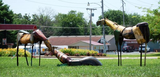Scrap Metal Horses in Missouri