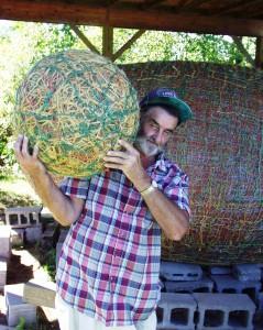 James Frank Kotera - JFK - The Twine Ball Man of Lake Nebagamon, WI