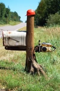 Chainsaw Mailbox - Medford, Wisconsin