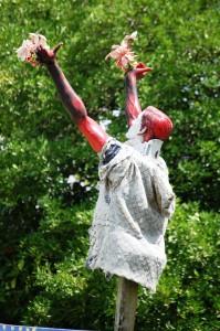 Cheer for the Flower Man!! - Houston, Texas