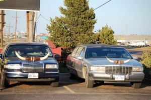Longhorn Limos at Big Texan Steak House, Amarillo, Texas