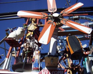 Windmills and Whirlygigs at Hamtramck Disneyland in Detroit