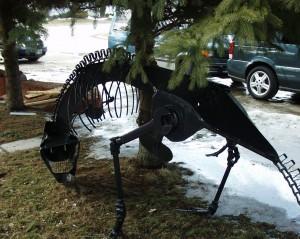 Grazing Dinosaur - Harrietsville, Ontario