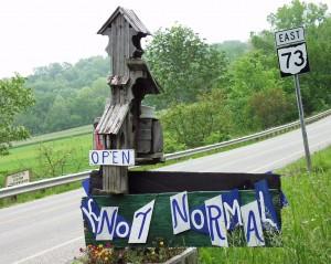 Knot Normal Mailbox - Peebles, Ohio