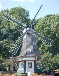 Windmill in Pella Town Square