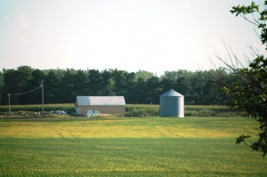 Beautiful farmland of Iowa