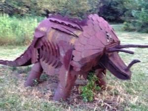 """Larry Vennard's """"Triceratops"""""""