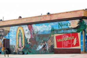 Another Little Mexico Wall Mural in Omaha