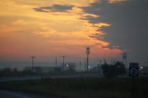 Sunrise over Western Nebraska