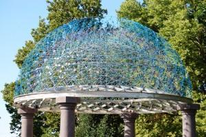 Oculus by Broward Hatcher, at Bayliss Park in Council Bluffs