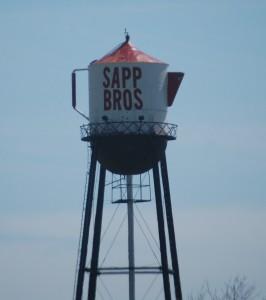Sapp's Coffee Pot Water Tower in Nebraska City