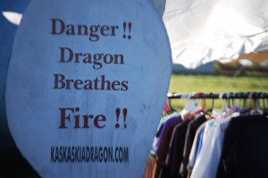 Kaskaskia Dragon Breathes Fire in Vandalia, IL