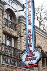 Palace Hotel - Eureka Springs, Arkansas