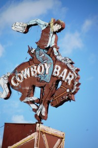 Cowboy Bar - Jackson Hole, Wyoming