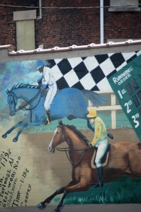 Detail of Char Downs mural