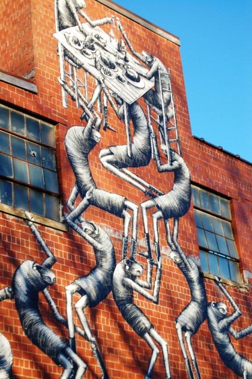 Phlegm Mural at Barrel House Distillery in Lexington, KY
