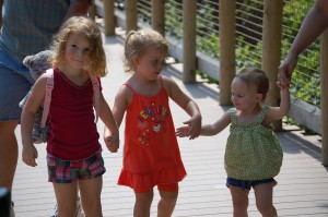 Joselyn with her cousin Autumn and Second Cousin Savannah at the Cincinnati Zoo in 2010