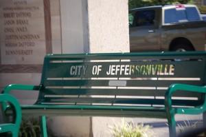 Bench in Jeffersonville, IN