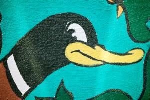 Duck Head Detail of Noah Church mural