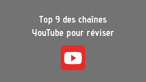 Top 9 des chaînes YouTube pour réviser : découvrez notre sélection