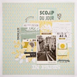 I love my life in Paris
