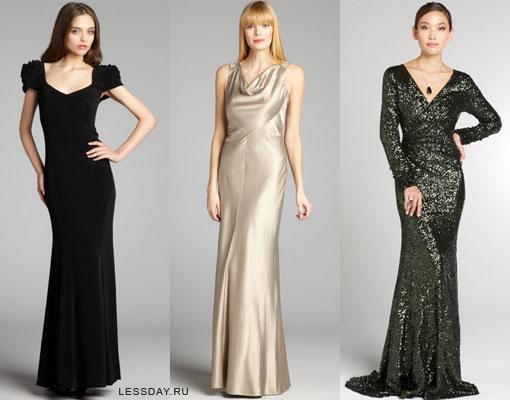 Модные вечерние платья 2014: фото длинных в пол и коротких ...