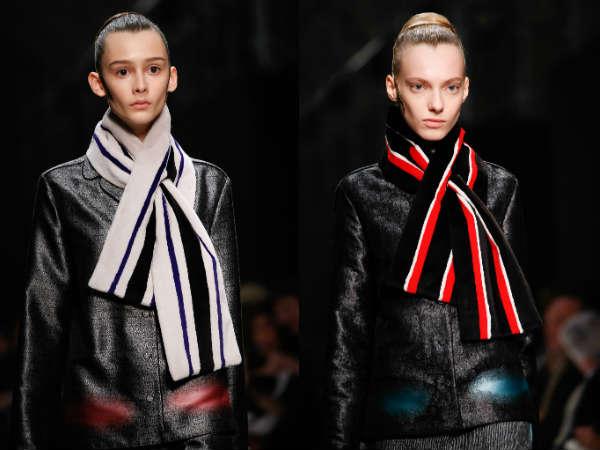 Модные платки и шарфы осень-зима 2015-2016: фото аксессуаров