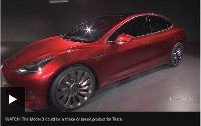 Tesla Electric Car Launch