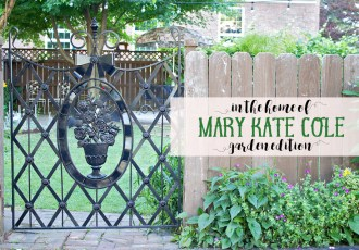 in the home of | mary kate cole