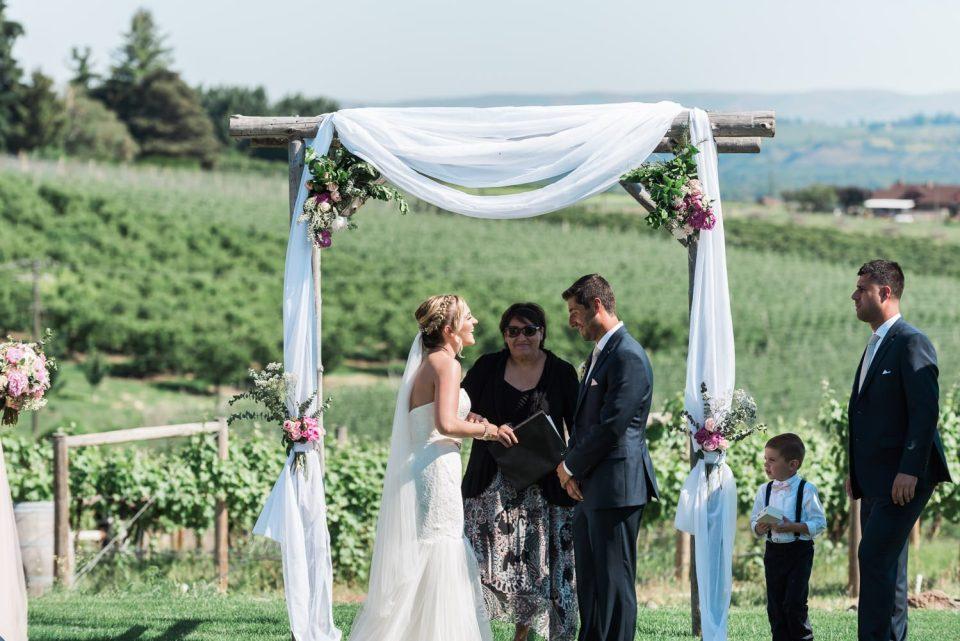 fontaine estates winery wedding photos