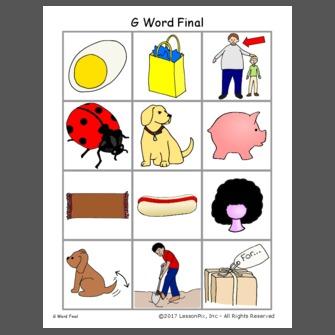 G Word Final