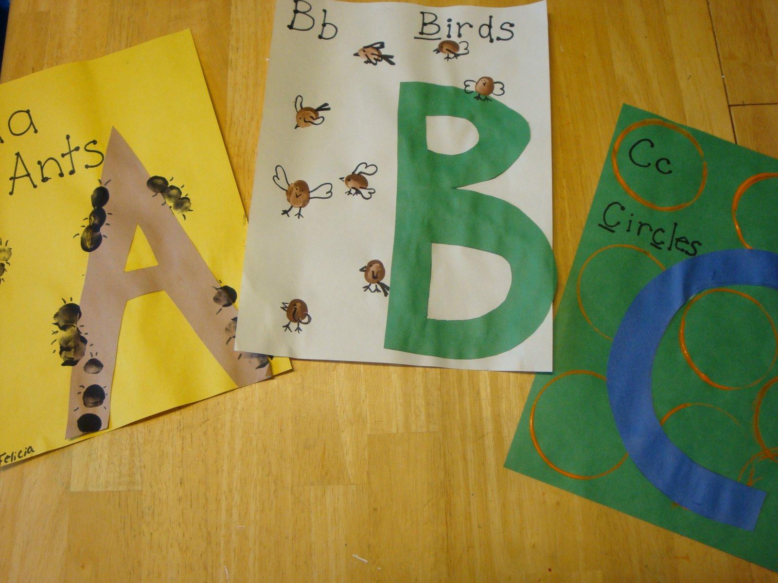 Make It Alphabet Books Lesson Plans