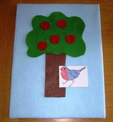 Apple Tree Felt Board