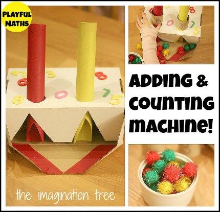 adding machine collage title1