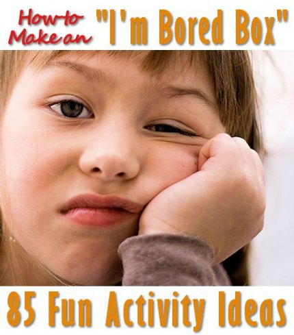 How to Make a Bored Box and 85 Activites to Go Inside!