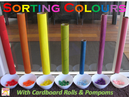 Sorting-Colours-with-Cardboard-Rolls-1-500x379
