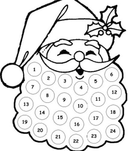 santa-face-printable-countdown