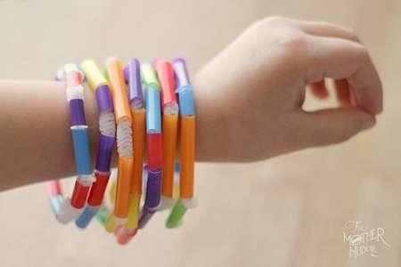 Straw Beaded Bracelets