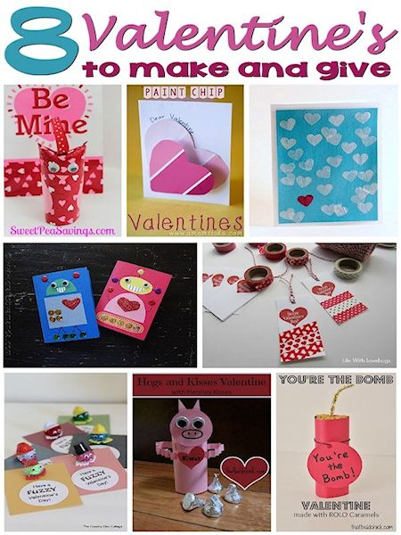 8 Valentines to Make and Give