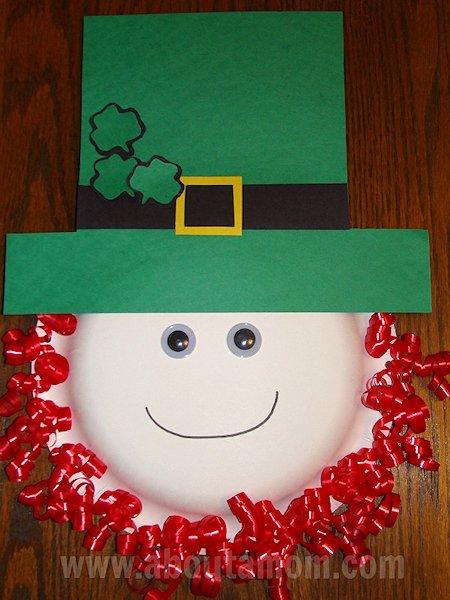 Leprechaun Paper Plate Craft Lesson Plans