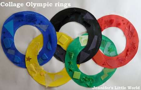 Olympic Ring Collage