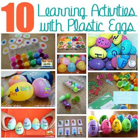 10 Educational Ways to Use Plastic Eggs