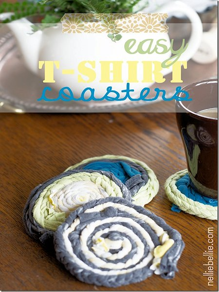 Easy T-Shirt Coasters