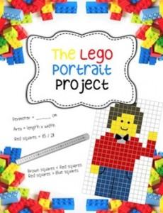 lego portrait project lesson