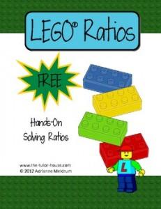 LEGO Ratios - TeachersPayTeachers
